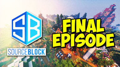 Minecraft SourceBlock SMP - THE END of SourceBlock - Spawn Tour & WORLD DOWNLOAD!