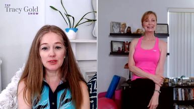 How to Get Fit Over 50 With Amy Van Liew Part 2 - Tracy Gold Show