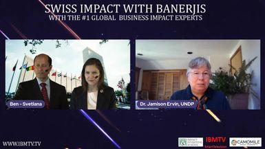 Swiss Impact with Banerjis Season -2 | Dr. Jamison Erwin, UNDP
