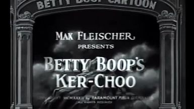 """Betty Boop """"A Song a Day"""""""
