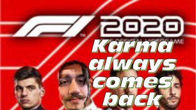 Karma always wins   F1 2020
