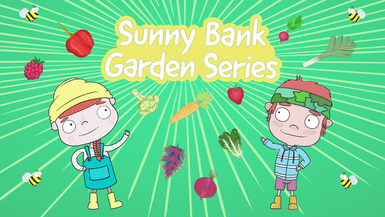 Sunny Bank Garden - Rain, Rain Go Away?