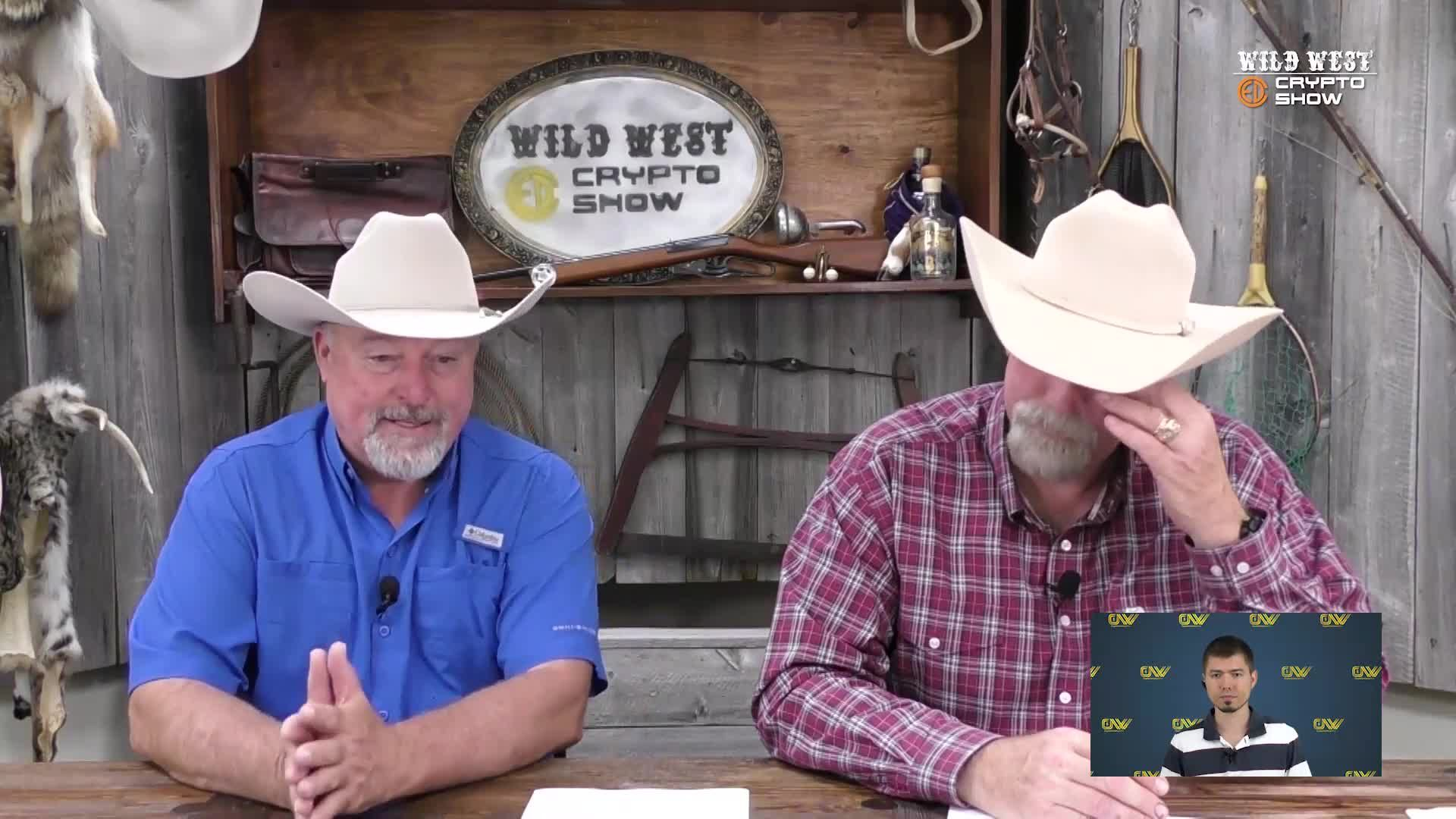 CryptoCurrencyWire Videos-The Wild West Crypto Show Features Paul Harvey Segment for Independence Day | CryptoCurrencyWire on The Wild West Crypto Show | Episode 115