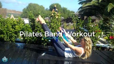 AZULFIT - Pilates Band Workout