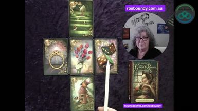 23rd July 2021  The Daily Lenormand cards