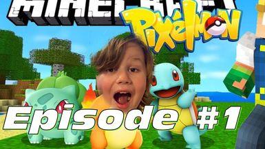 VC3 Plays Pixelmon Episode #1