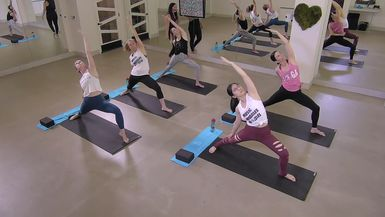 Hips & Hammies Turbo - Yoga Stretch & Strengthen
