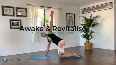 AZULFIT - Awake and Revitalise (P) All Levels (15min)