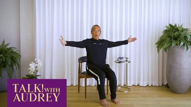 TALK! with AUDREY - Donna Karan's Urban Zen Integrative Therapy (UZIT) - A Free Digital Meditation Program Created for COVID-19 Frontline Workers