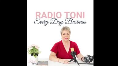 Radio Toni Every Day Business with Briony Schadegg and the FRANK app