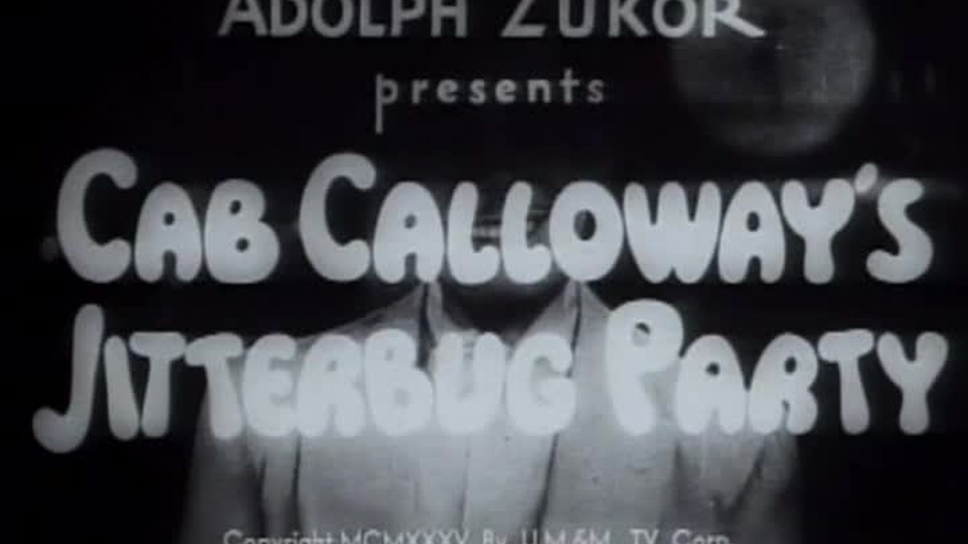 Cab Calloway's Jitterbug Party
