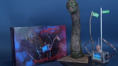 NECA Toys A Nightmare on Elm Street Accessory Set Review