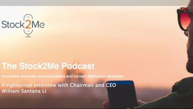 Knightscope Interview with Chairman and CEO William Santana Li