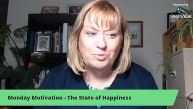 Monday Motivation - The State of Happiness