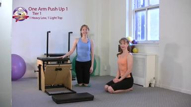 One Arm Push Up 1
