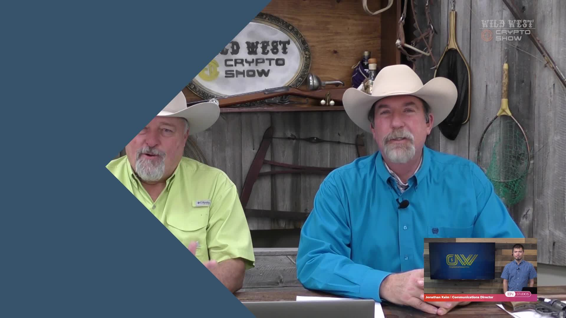 CryptoCurrencyWire Videos-The Wild West Crypto Show The Wild West Crypto Show Show on Paying Taxes in Crypto| CryptoCurrencyWire on The Wild West Crypto Show | Episode 125