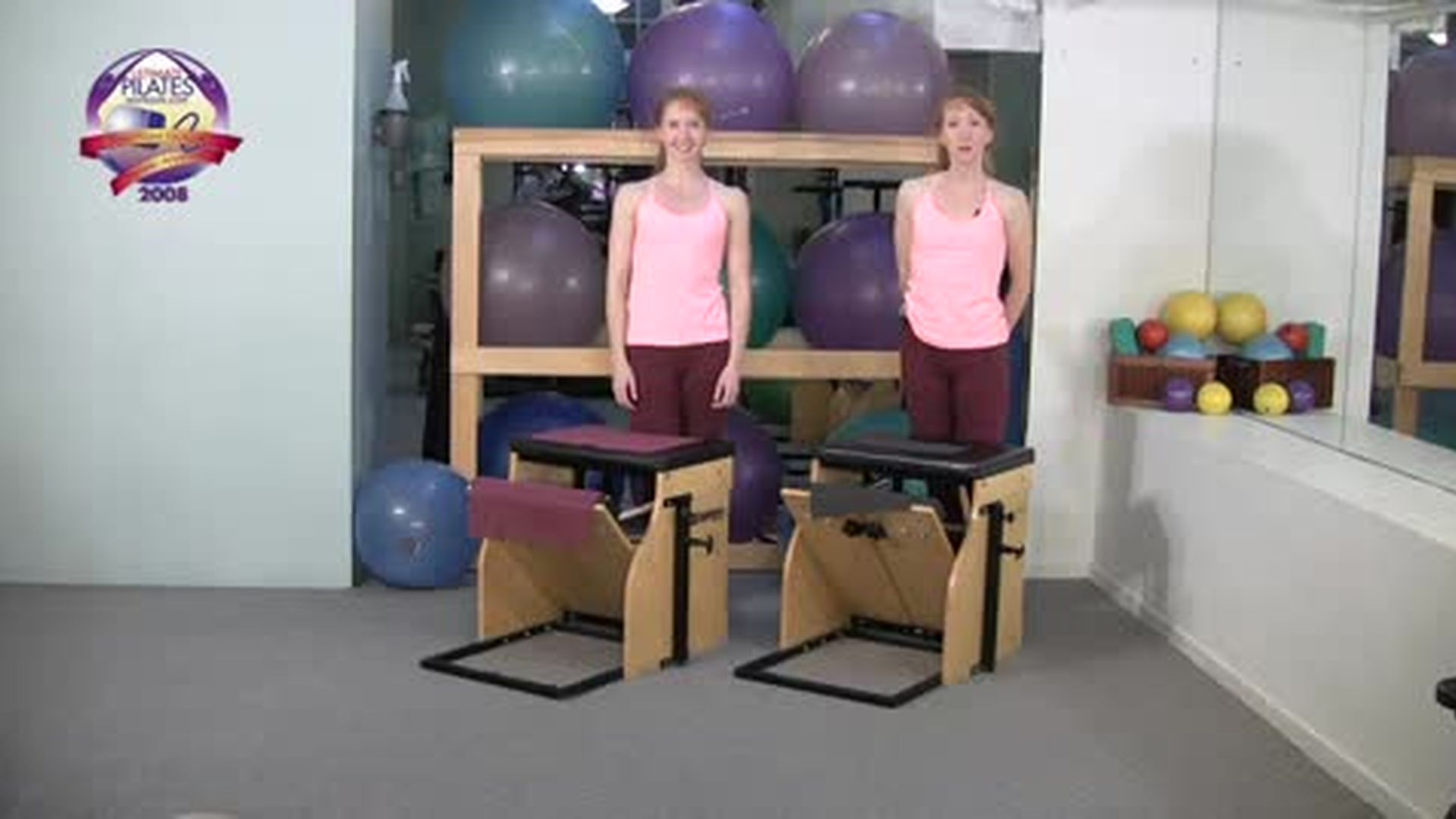 Chair Workout Ten Minute Arms and Back