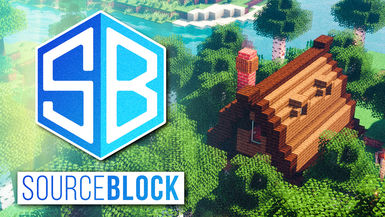 Minecraft SourceBlock SMP - Ep. 02 - FOREST COTTAGE BUILD w/ fWhip!