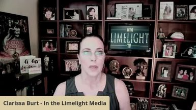 In the Limelight with Clarissa interviews Margaret Brown