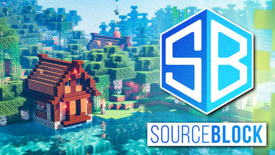 Minecraft SourceBlock SMP - Ep. 06 - BASE TOUR & Enchanting Table Setup