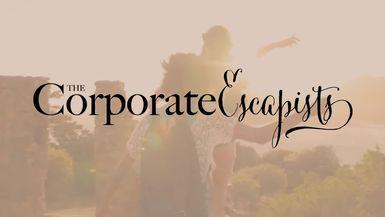 Toni Lontis with Christine Innes - Corporate Escapists Magazine