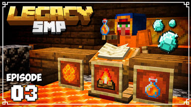 Legacy SMP - Ep. 03 - THE SMALL BEE & HONEY SHOP!
