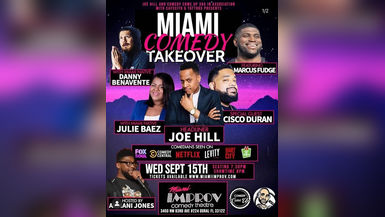 Comedy Night in Miami is HOT!