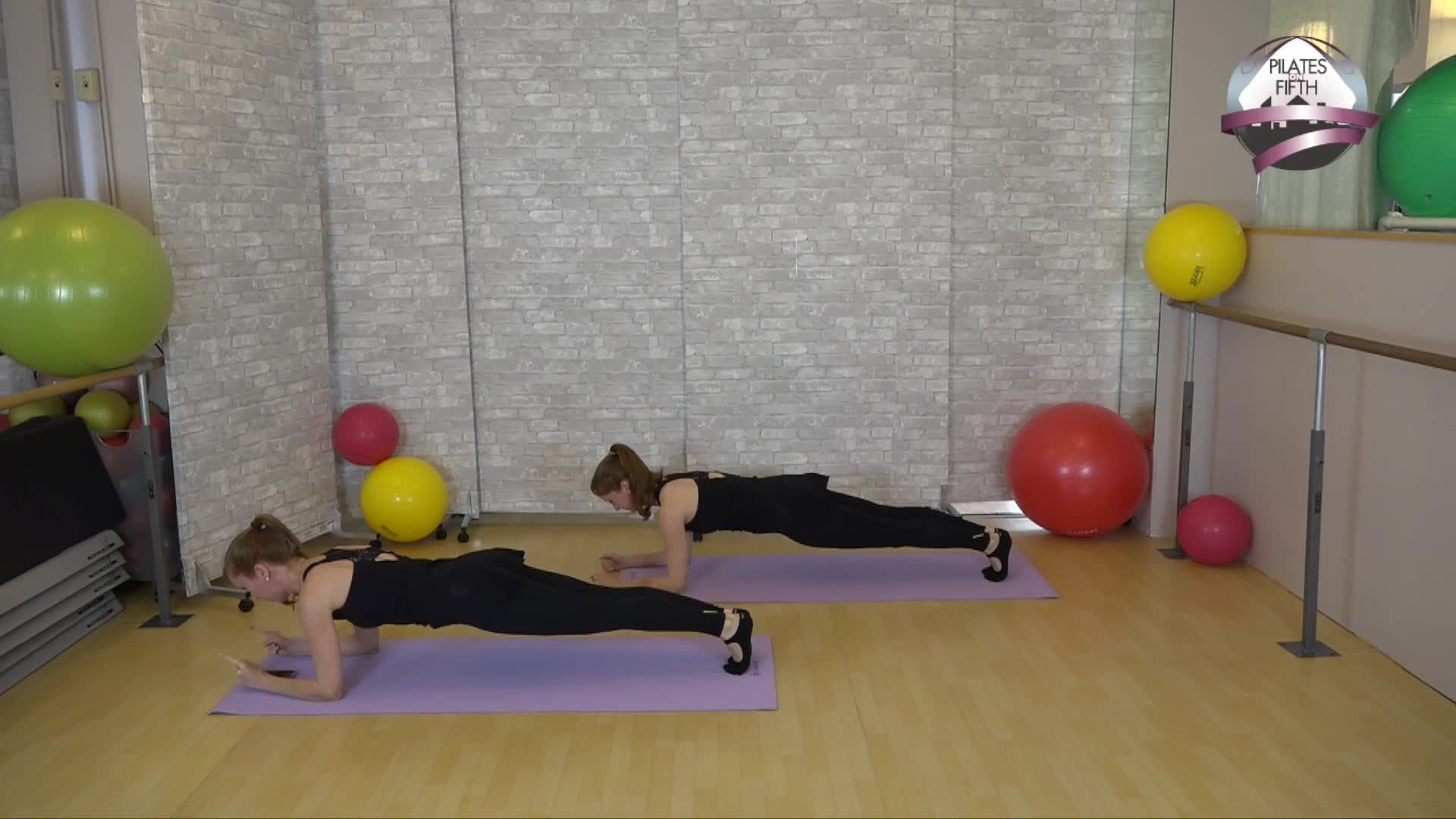 CARDIOLATES Reformer on the Mat