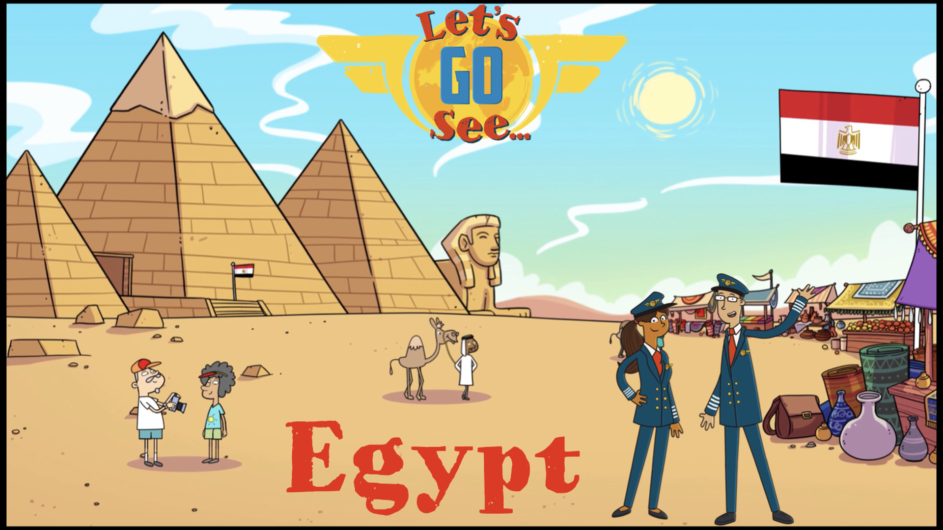 Let's Go See Egypt