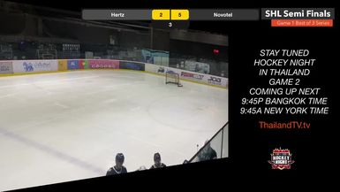 PEAK @ AWARE: IT'S THE PLAYOFFS! GAME 1 OF 3. ThailandTV.tv presents Hockey Night in Thailand: Siam