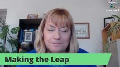 Making the Leap - special guest Ros Boundy