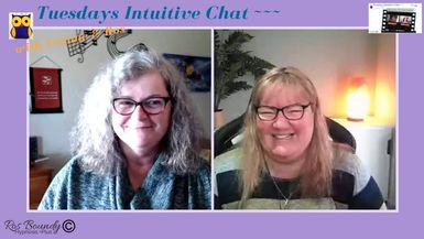 Tuesdays Intuitive Chat with Leanne & Ros - 12th May 2020  Join in for an hour of Fun & Chatt