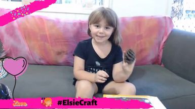 Welcome to #ElsieCraft. Today Elise is show us how to make an Easter Bunny Egg from a pine cone! Ha