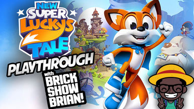 New Super Lucky's Tale Playthrough