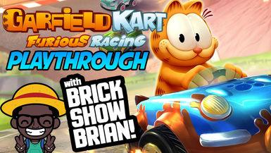 Garfield Kart Furious Racing Playthrough