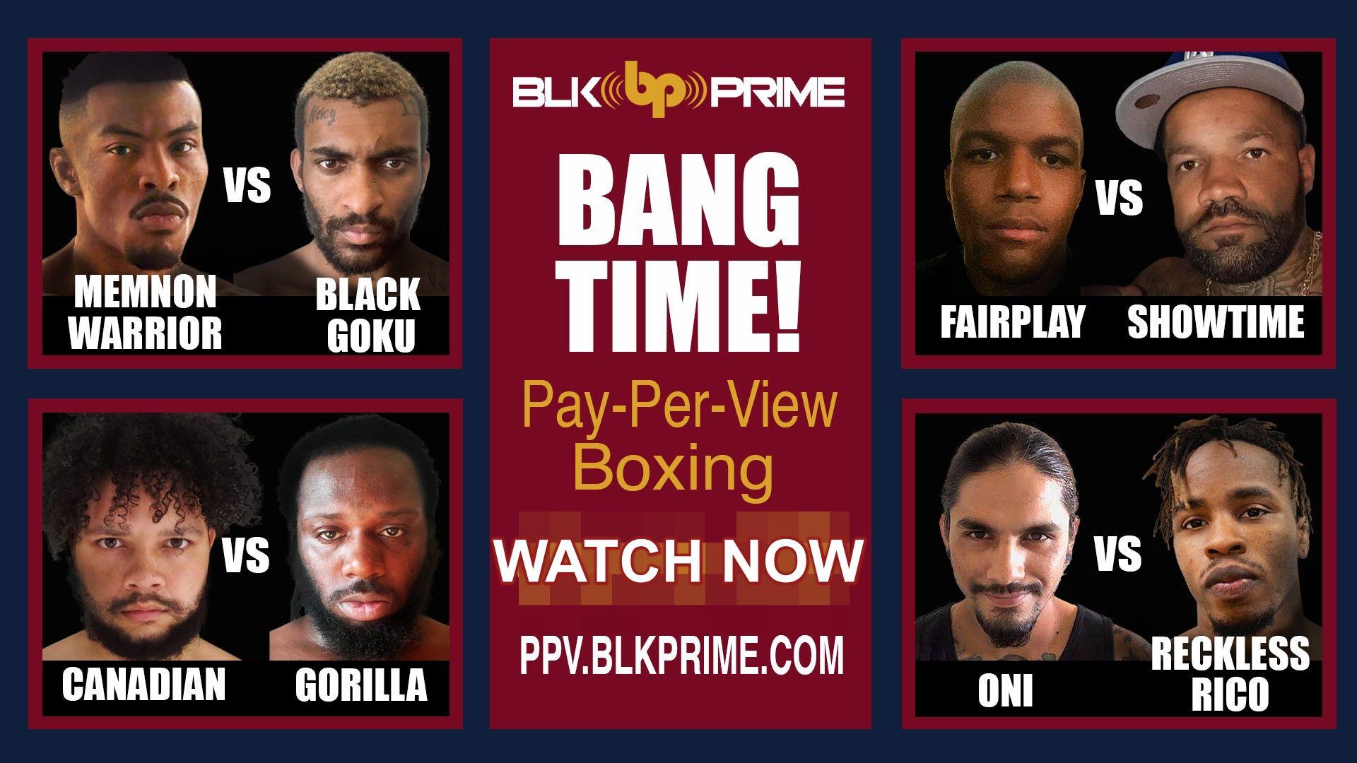 BLK Prime Boxing Bang Time