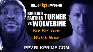 Big King Panther Turner Vs Wolverine BLK Prime Boxing