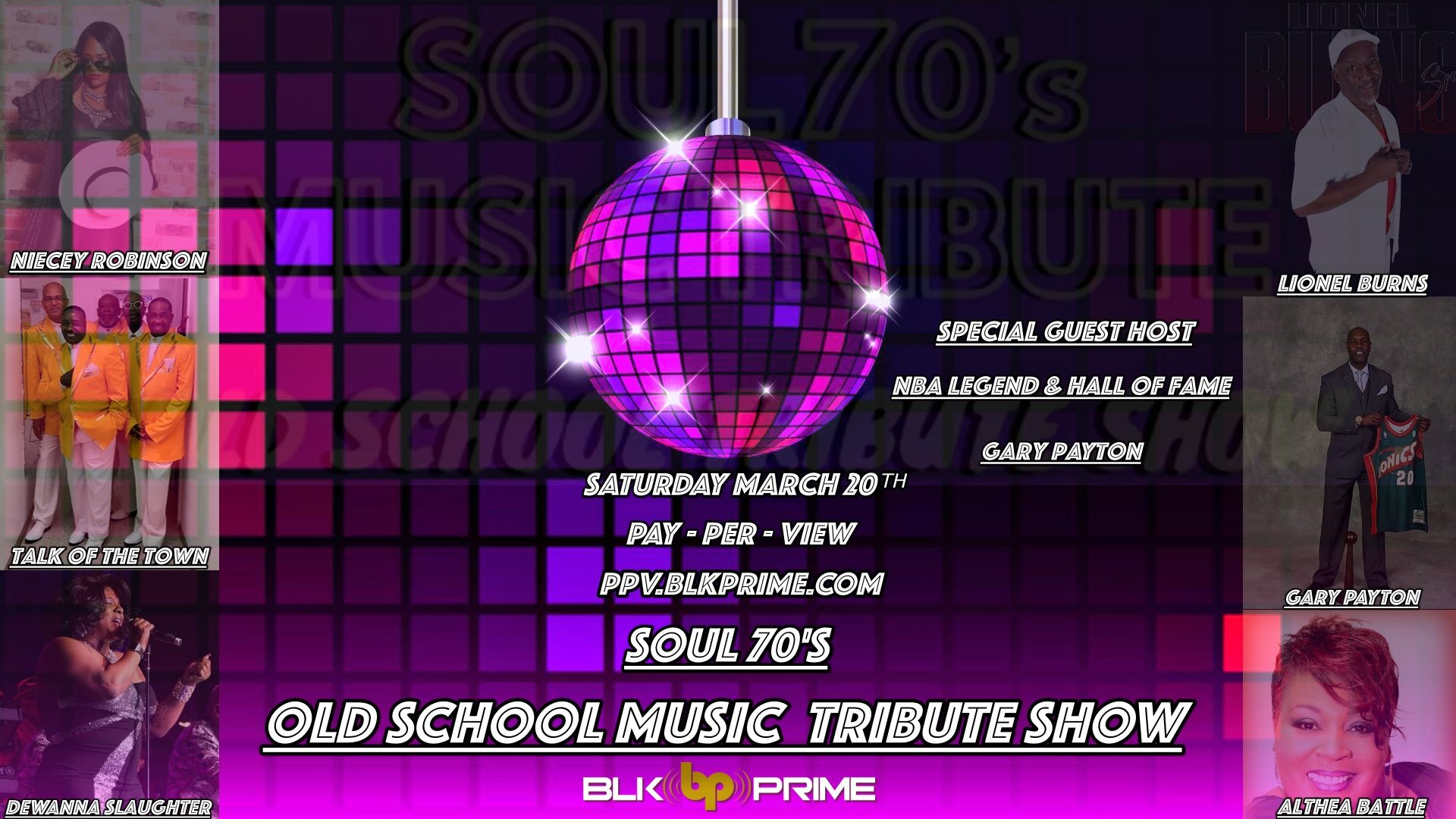 Soul 70'S Old School Music Tribute Sizzle