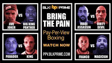 Bring The Pain Featuring Big King Panther Turner Vs Jive Joker