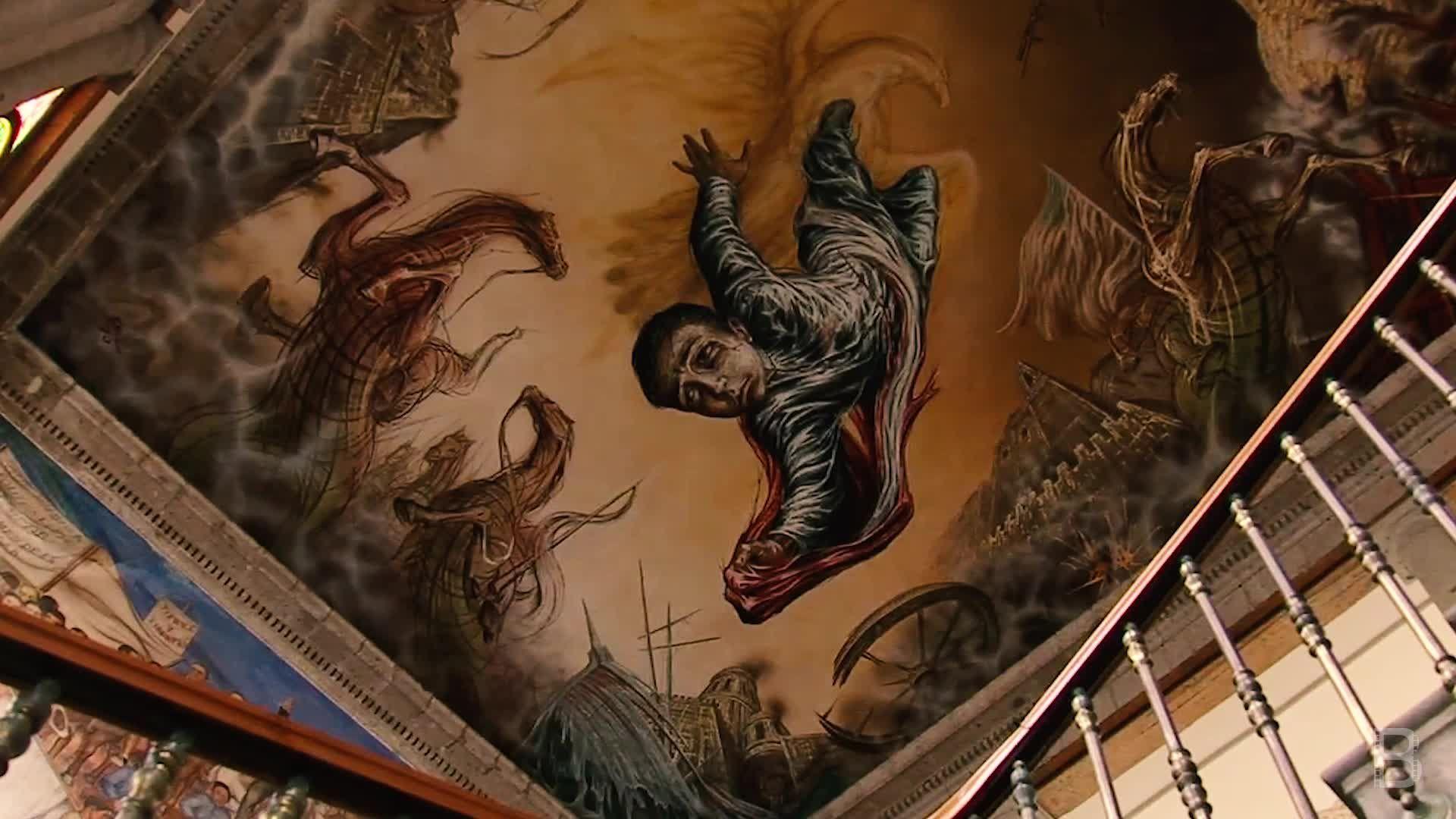 BELLA Presents: daily bello S1 Ep70 Mural Sacrificio de los niños héroes by Gabriel Flores at Castillo de Chapultepec