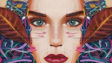 BELLA Presents: daily bello S1 Ep50 Woman's Face Mural