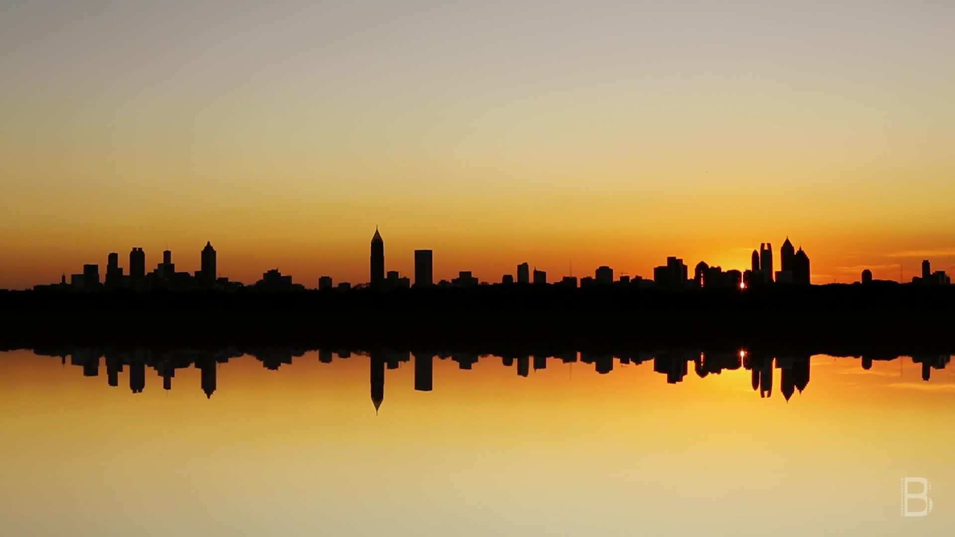 BELLA Presents: daily bello S1 Ep133 Atlanta Skyline Illusion