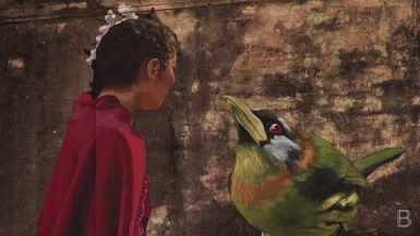 BELLA Presents: daily bello S1 Ep48 Girl & Bird Mural