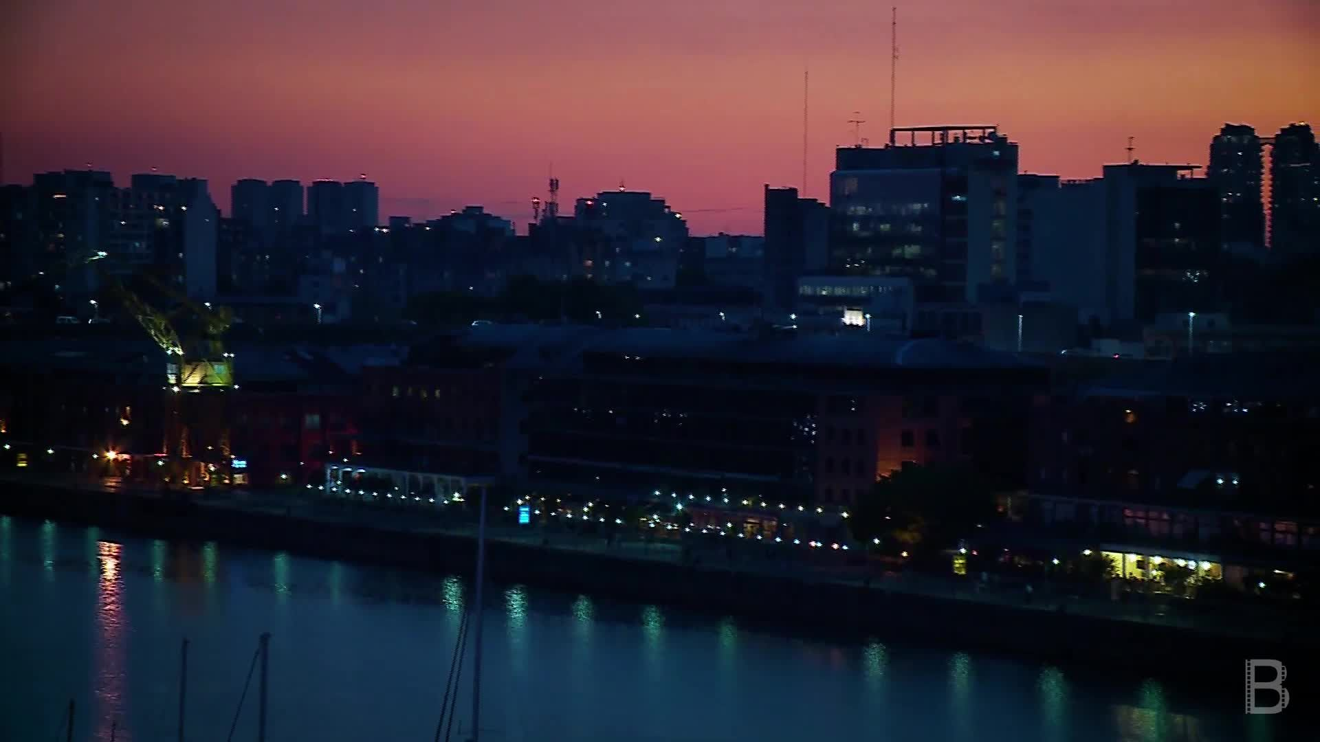 BELLA Presents: daily bello S1 Ep76 Puerto Madero Sunset in Buenos Aires