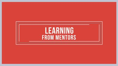 Learning From Mentors