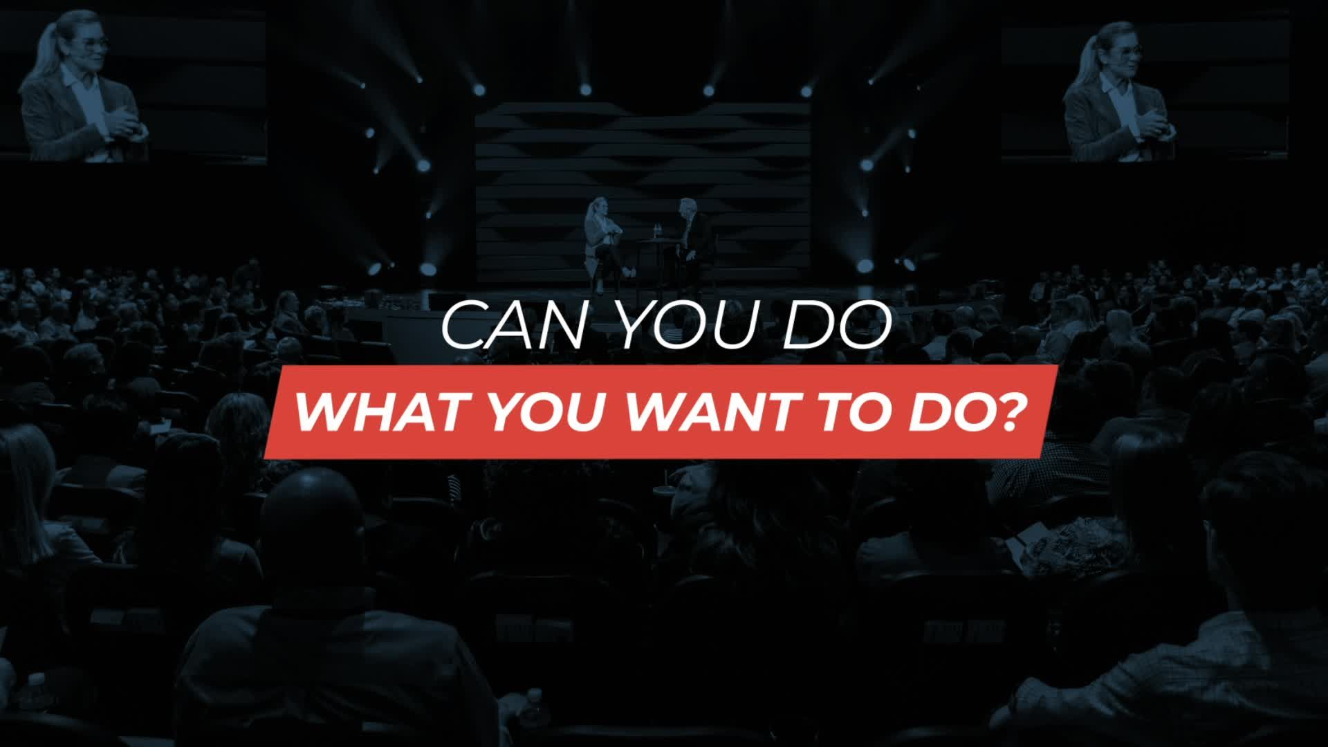 Can You Do What You Want to Do