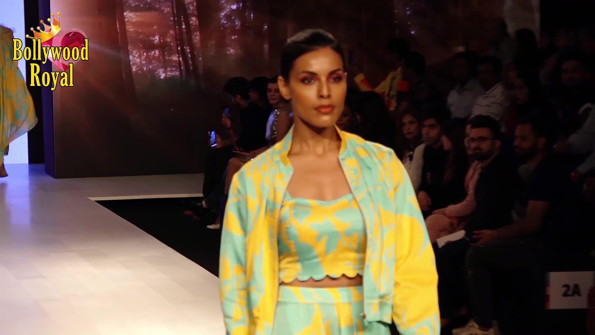 Saqib Saleem and Sayani Gupta Walk  The Ramp For Dev r Nil At Bombay Times Fashion Week 2020