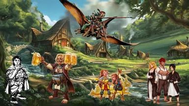 Dungeons and Dragons Lore: Halfling