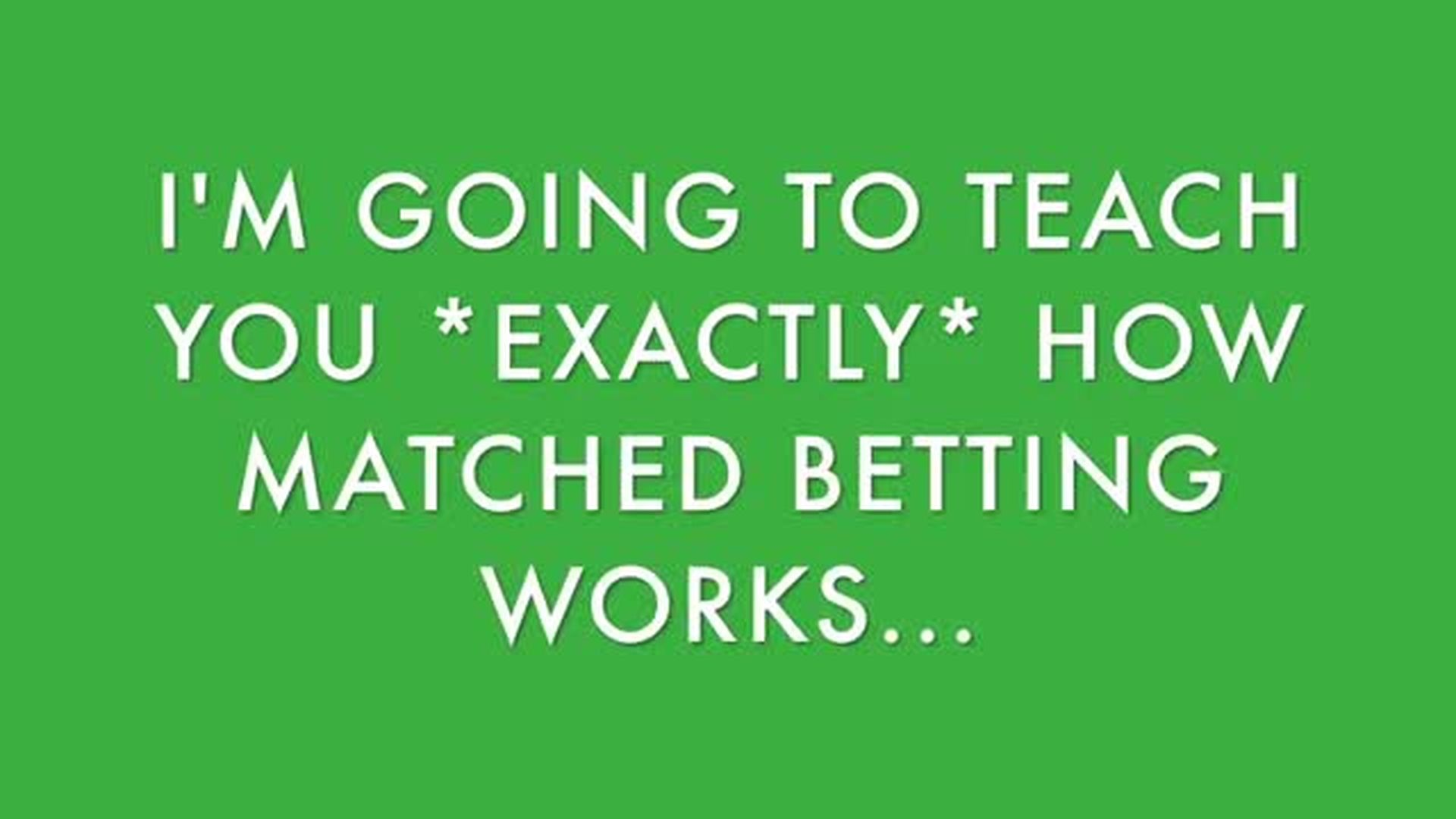 What is Matched Betting THE 5 MOST COMMON BEGINNER QUESTIONS EXPLAINED!