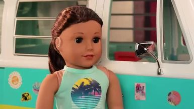 Joss Tries Out for the Cheer Team Meet Joss Kendrick Stop Motion Ep. 2 American Girl.